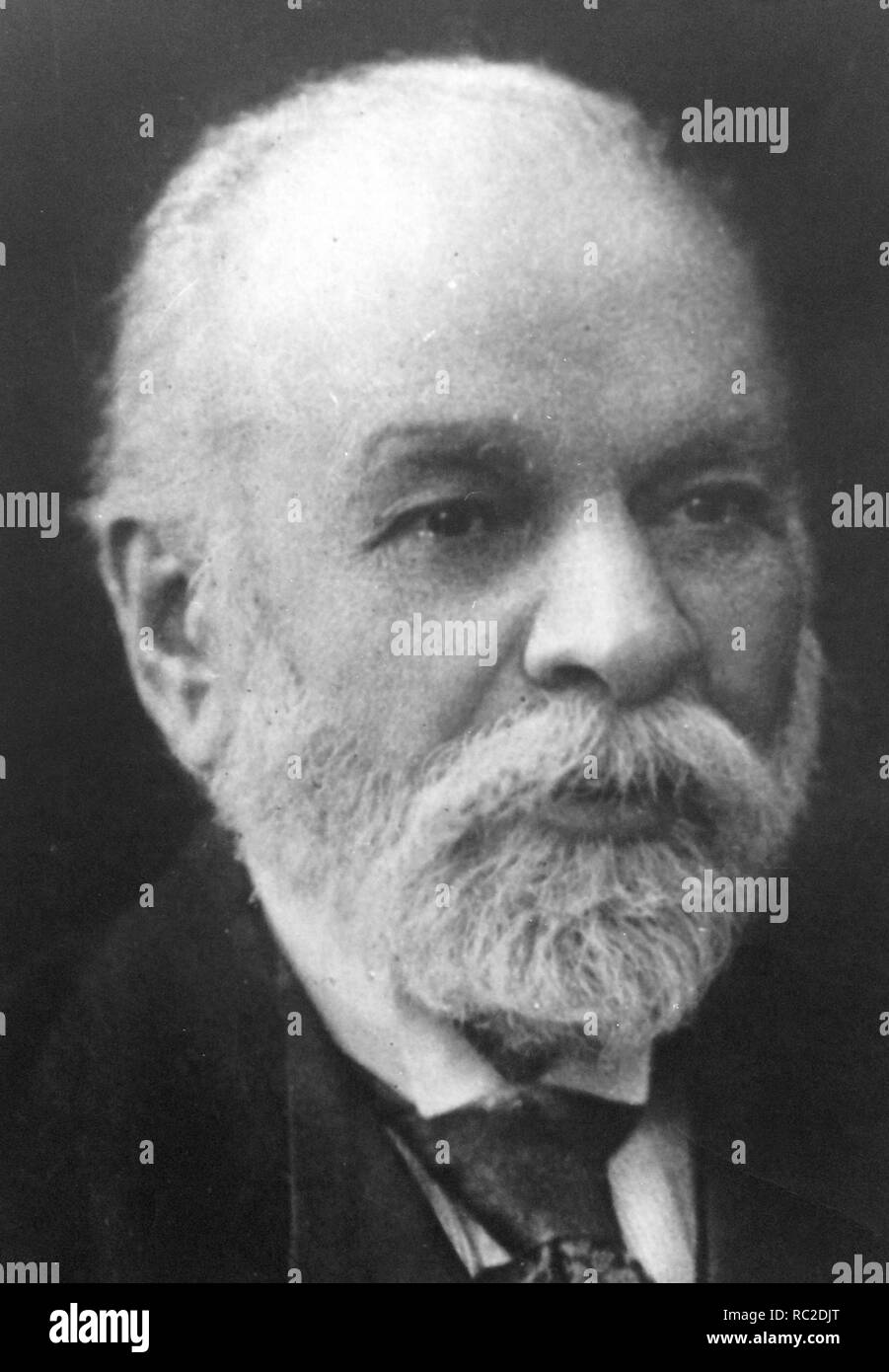Ismail Qemali (1844 – 1919) Albanian politician and publicist who served as the 1st President and Prime Minister of Albania - Stock Image