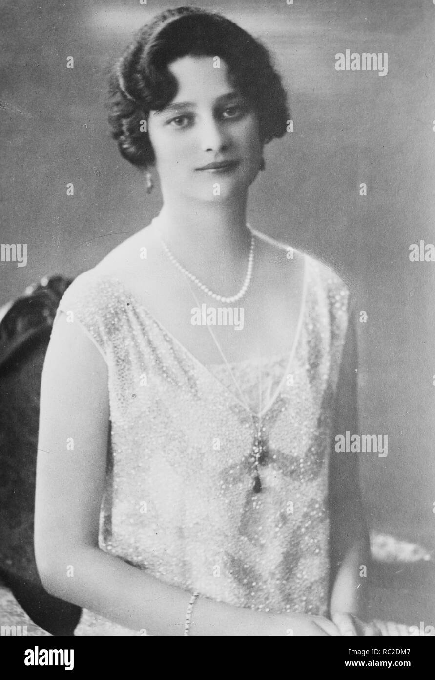 Astrid of Belgium, Astrid Sofia Lovisa Thyra of Sweden, Queen consort of the Belgians (1905-1935) Stock Photo