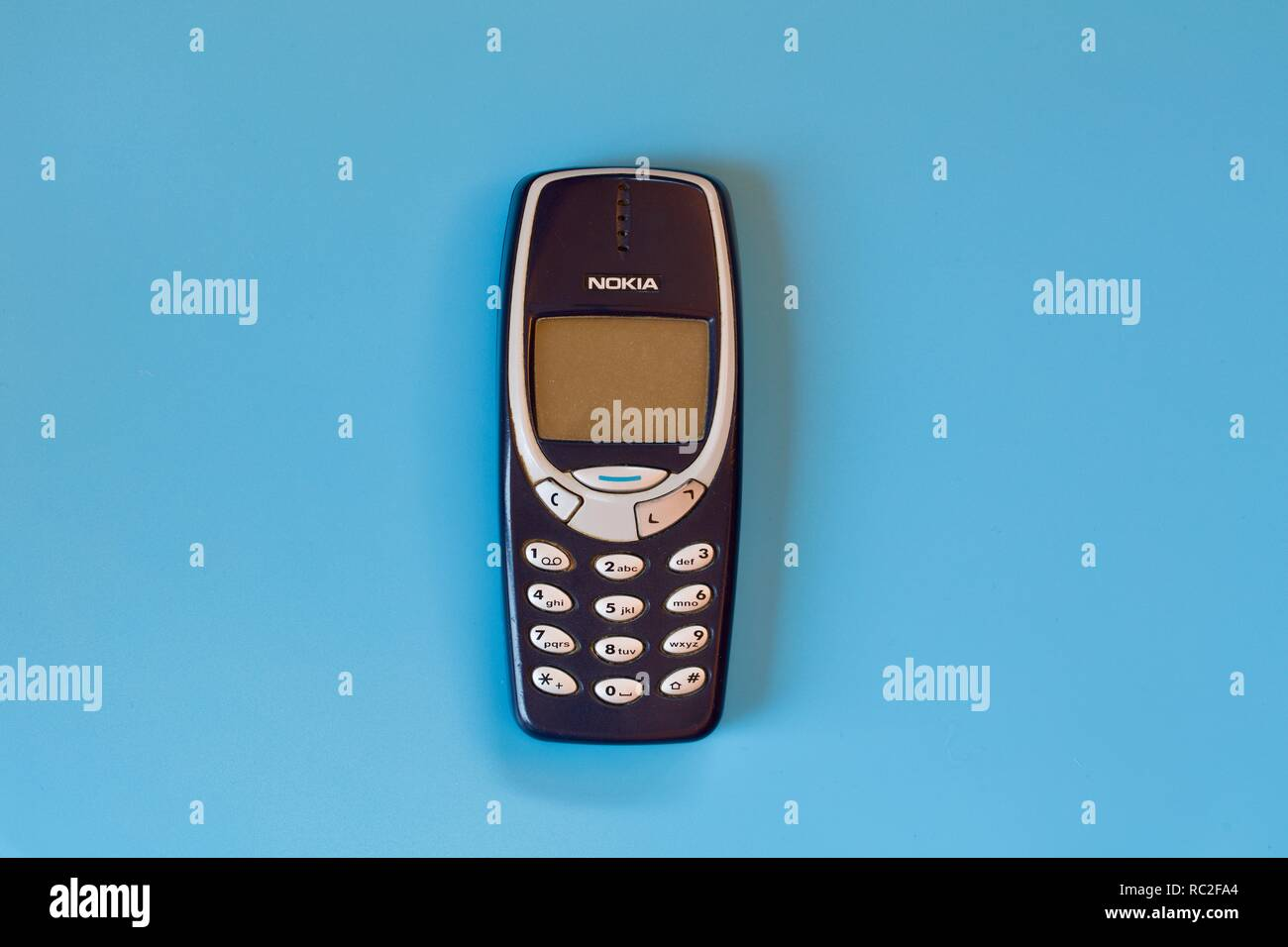 Nokia 3000 series  mobile phone - Stock Image