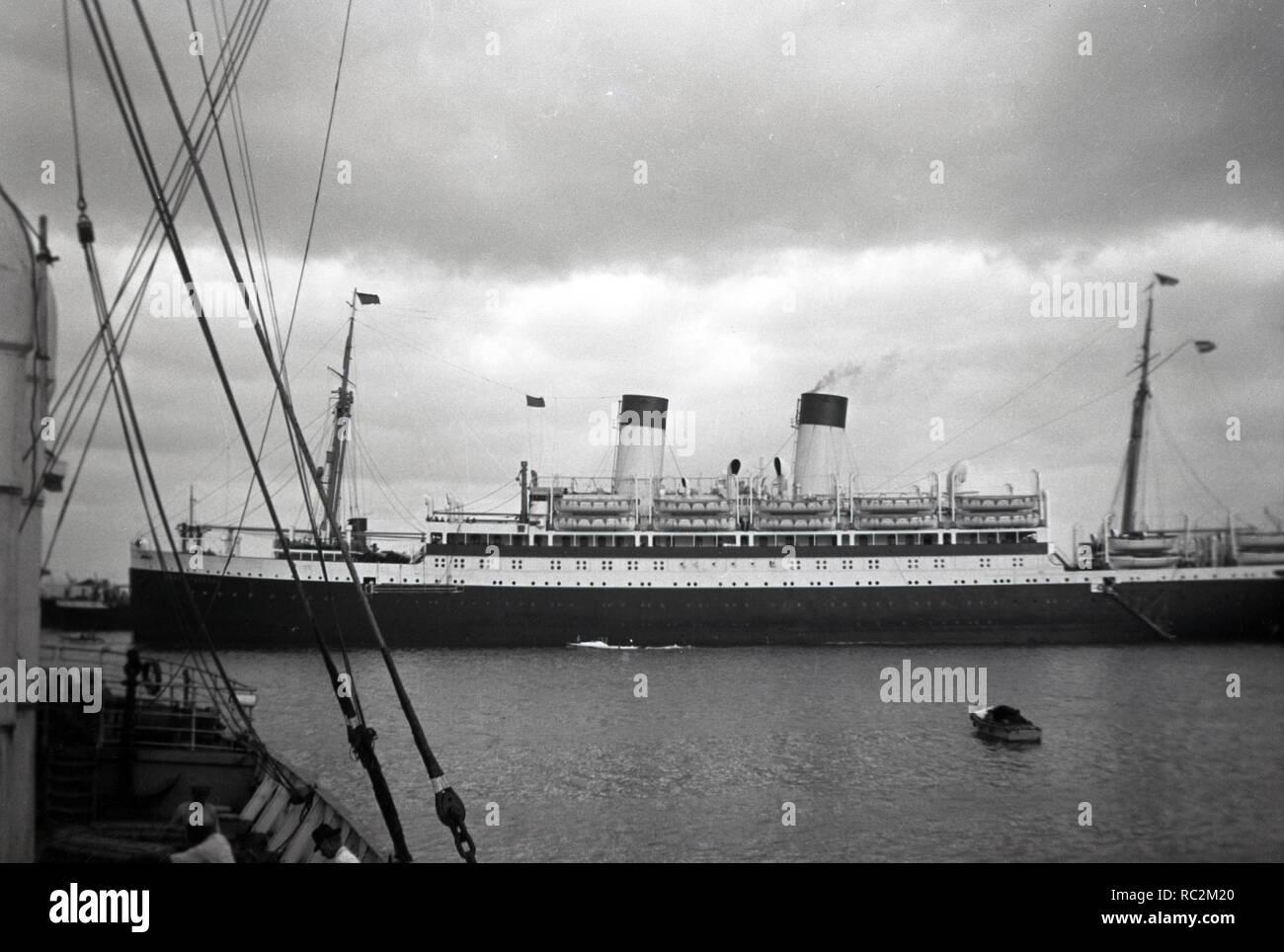 Deutsches Reich Passagierschiff der Monte-Klasse - Monte Pascoal - Stock Image