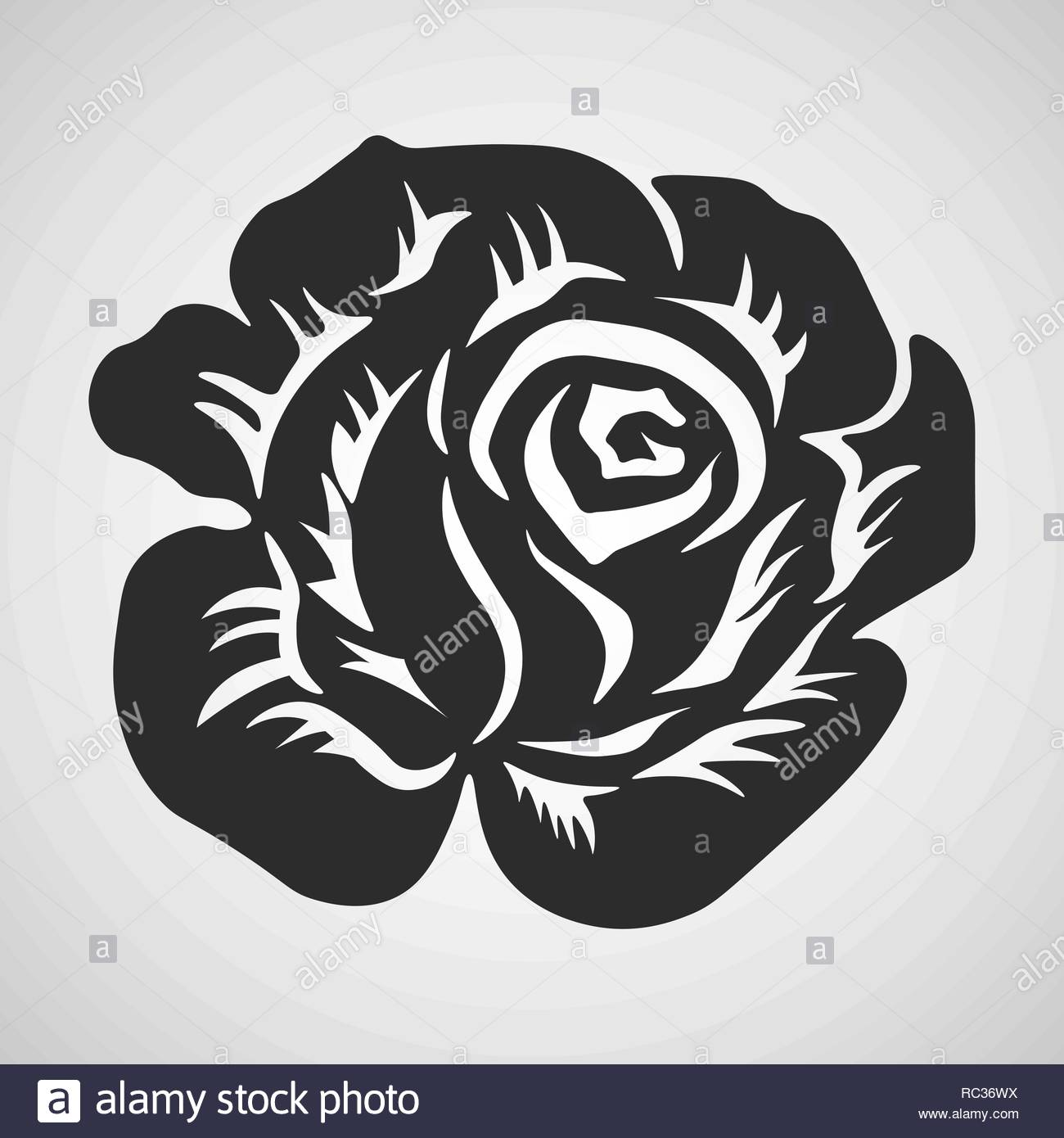 Tribal Rose Stock Photos Tribal Rose Stock Images Alamy