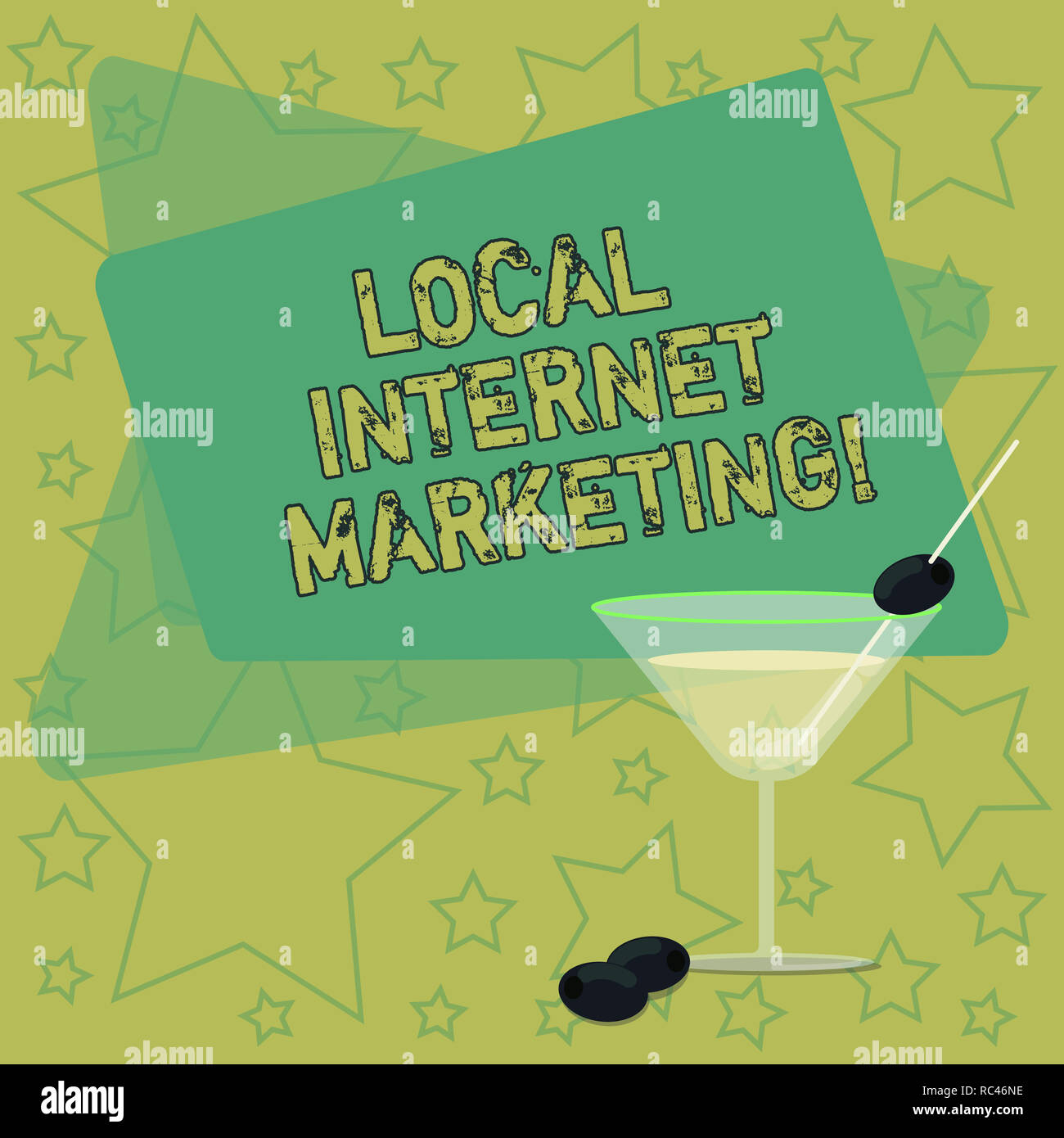 Handwriting text writing Local Internet Marketing  Concept meaning