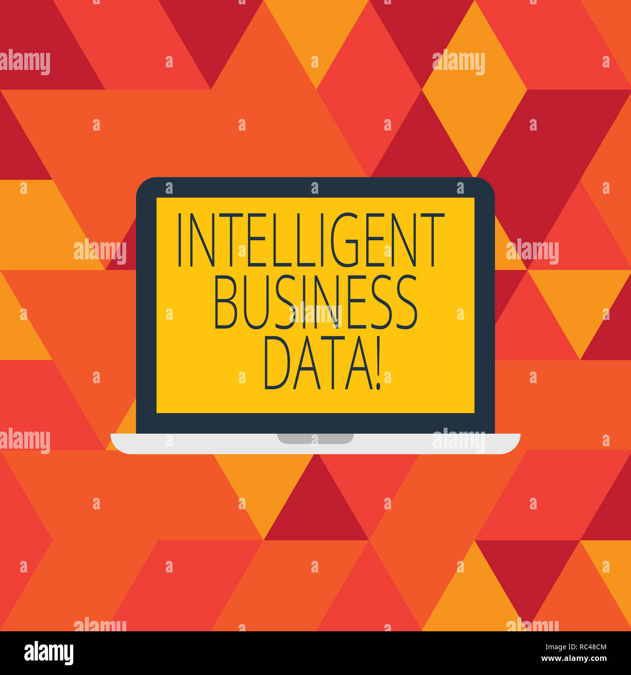 Word writing text Intelligent Business Data  Business concept for