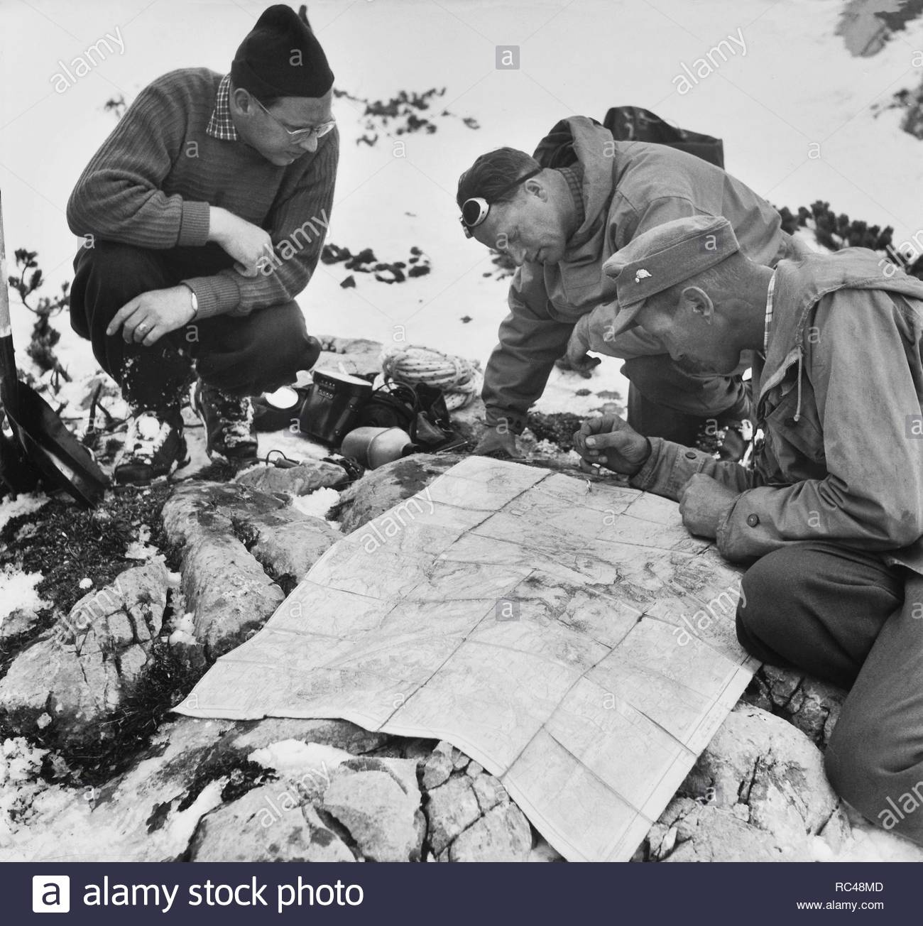 Map Of Germany Post World War Ii Stock Photos & Map Of Germany Post ...