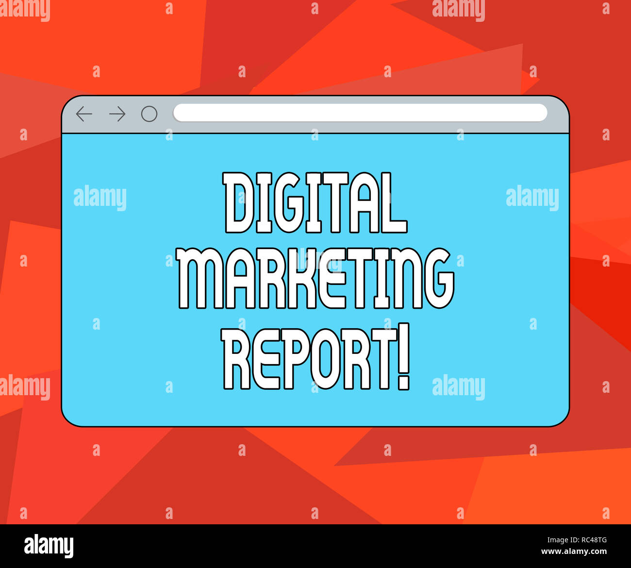 Word writing text Digital Marketing Report  Business concept