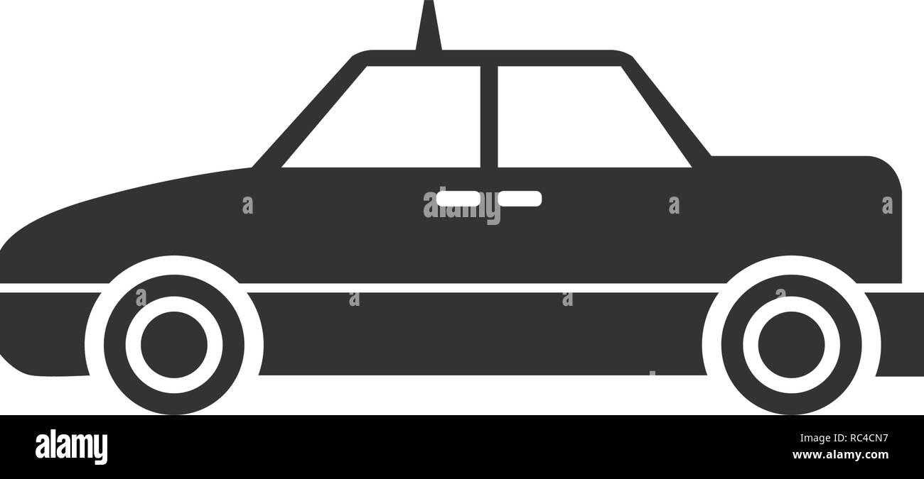 7bd14e2936 Car icon graphic design template vector silhouette Stock Vector Art ...