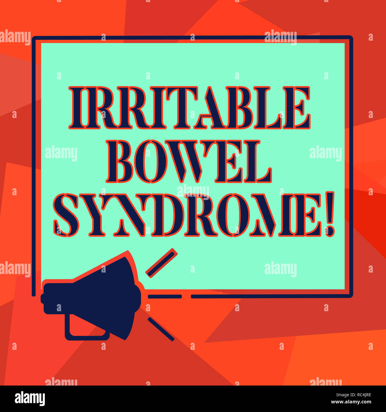 Word writing text Irritable Bowel Syndrome  Business concept