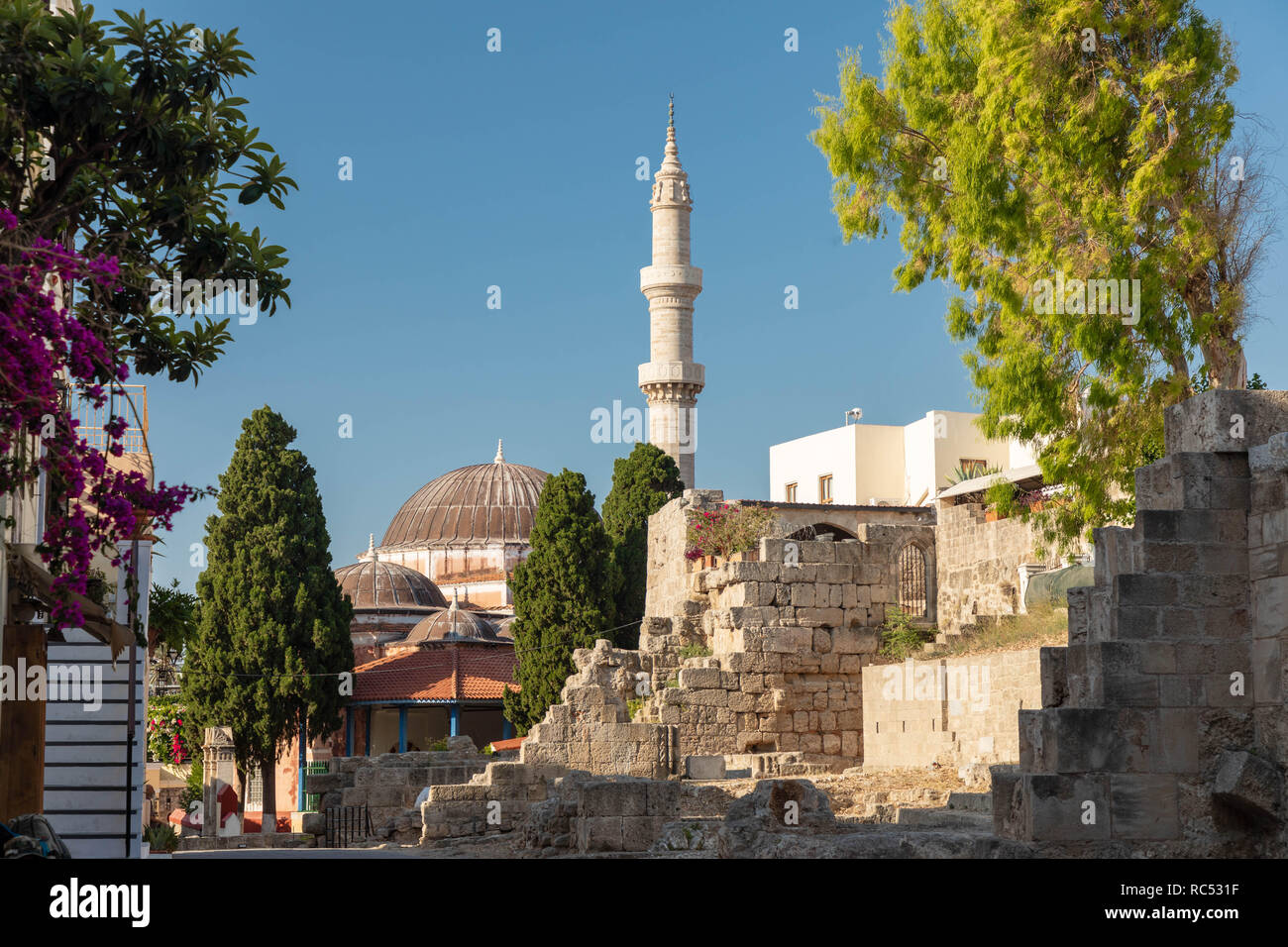 The Suleiman Mosque to have been built sometime during the rule of Suleiman the Magnificent (1494-1566), although certain features around it – such as - Stock Image