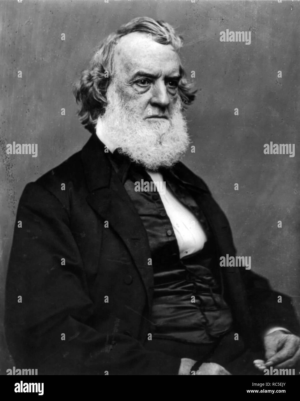 Gideon Welles, U.S. Secretary of the Navy - Stock Image