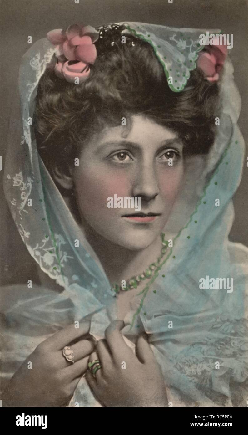 'Miss Grace Lane', (1876-1956), c1930. Edwardian actress [Raphael Tuck & Sons, London] - Stock Image