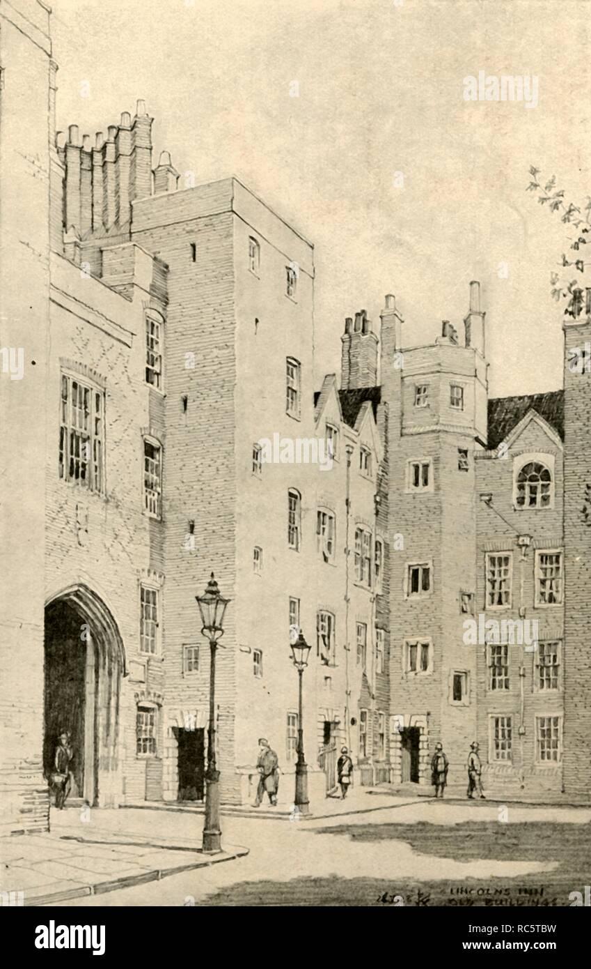 'St. John's Gateway, Clerkenwell', 1928. Creator: Unknown. - Stock Image