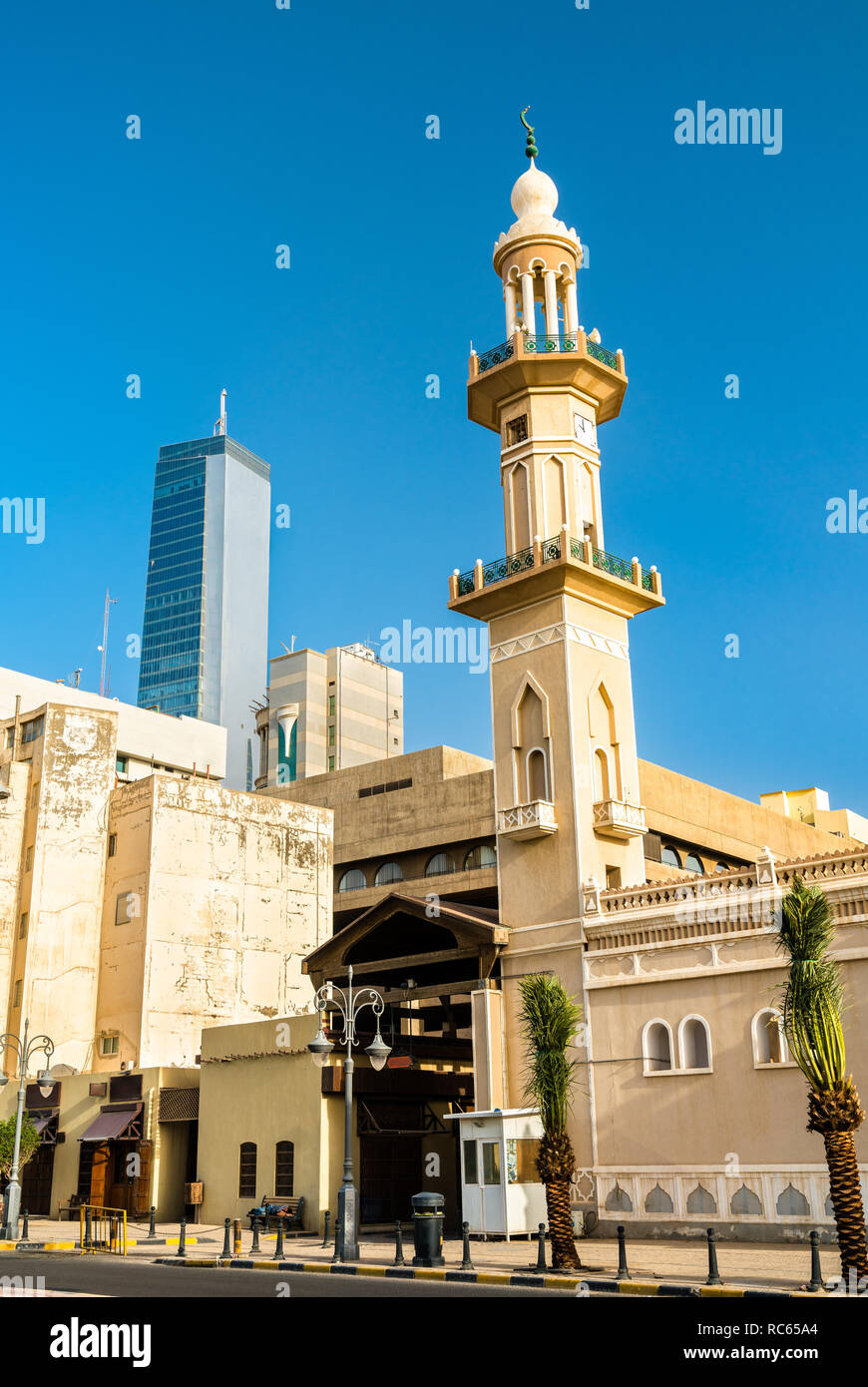 The Souq Grand Mosque in Kuwait City - Stock Image