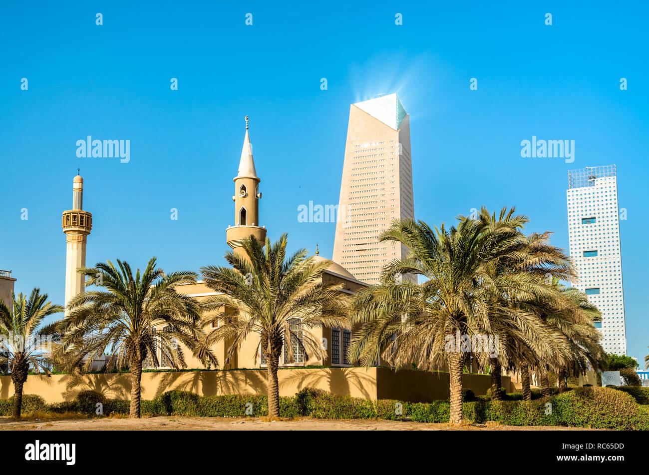 Al Haddad Mosque in Kuwait City - Stock Image