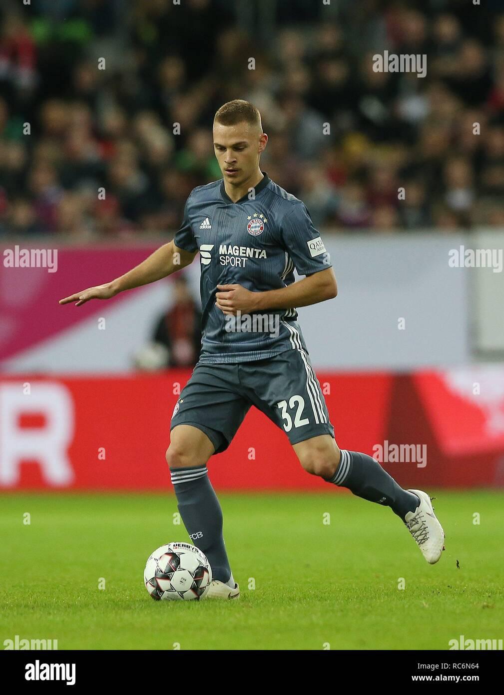 firo: 13.01.2019, football, 1.Bundesliga, season 2018/2019, Telekom-Cup 2019, FC Bayern Munich, Joshua KIMMICH, single action   usage worldwide - Stock Image