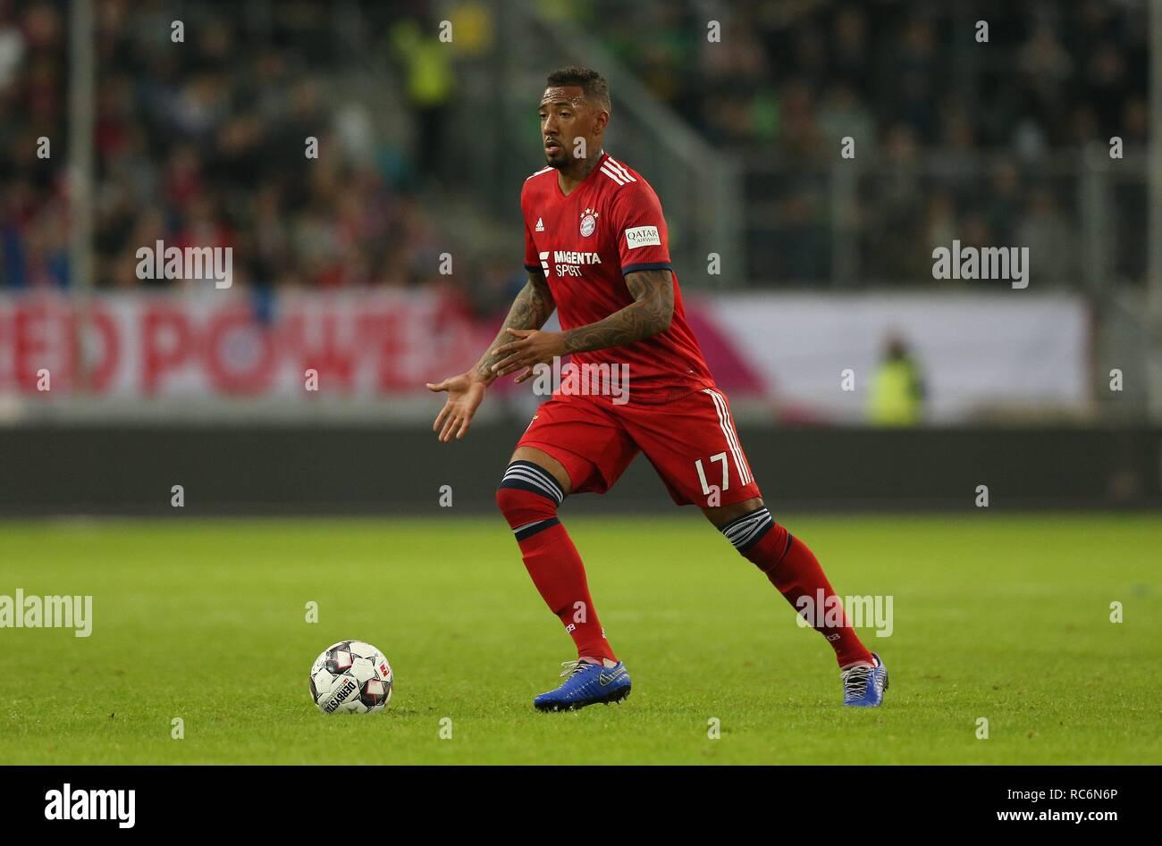 firo: 13.01.2019, football, 1.Bundesliga, season 2018/2019, Telekom-Cup 2019, FC Bayern Munich, Jerome BOATENG, single action   usage worldwide - Stock Image