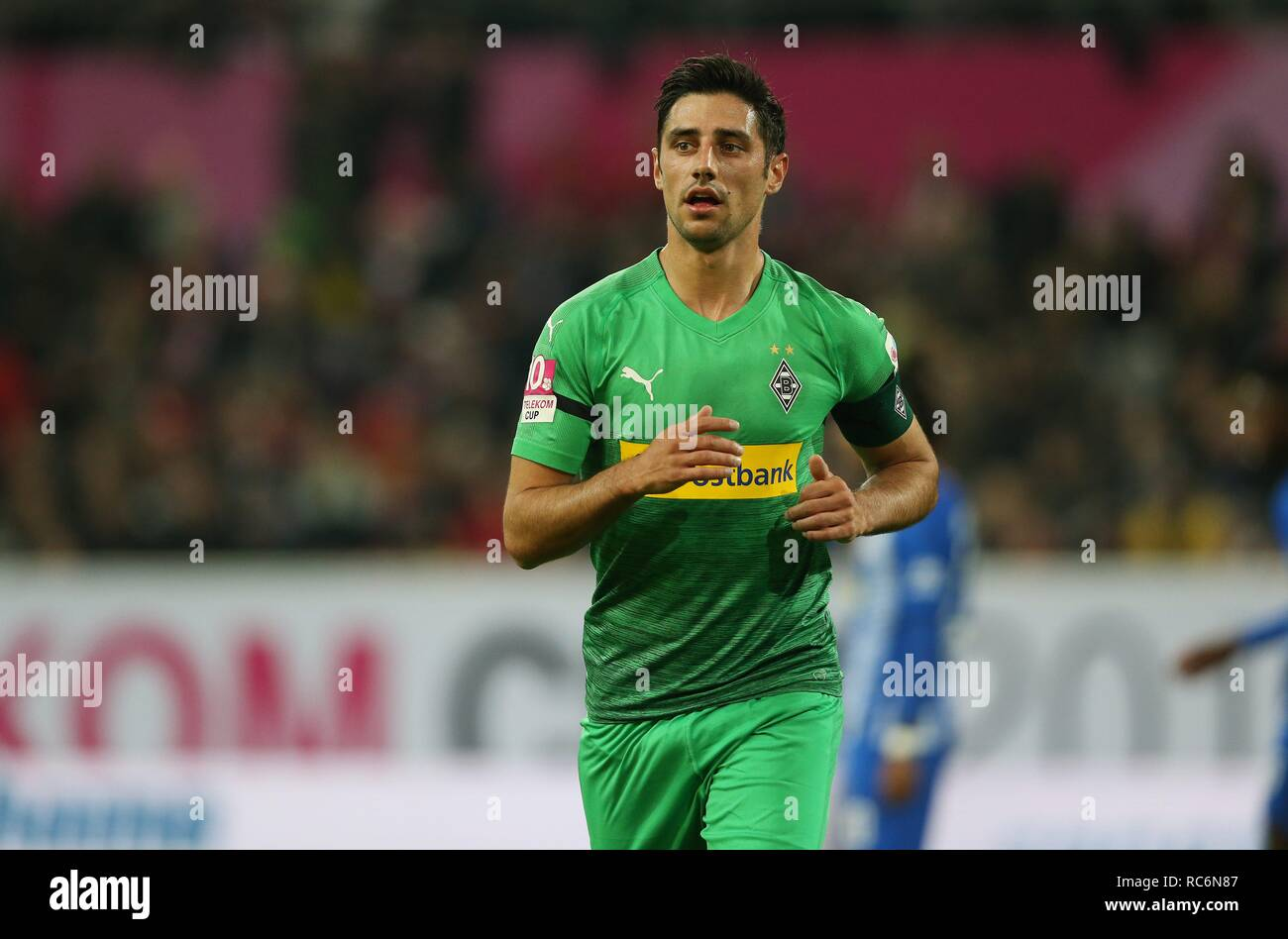 firo: 13.01.2019, football, 1.Bundesliga, season 2018/2019, Telekom-Cup 2019, Borussia Monchengladbach, Gladbach, Lars STINDL, half figure   usage worldwide - Stock Image