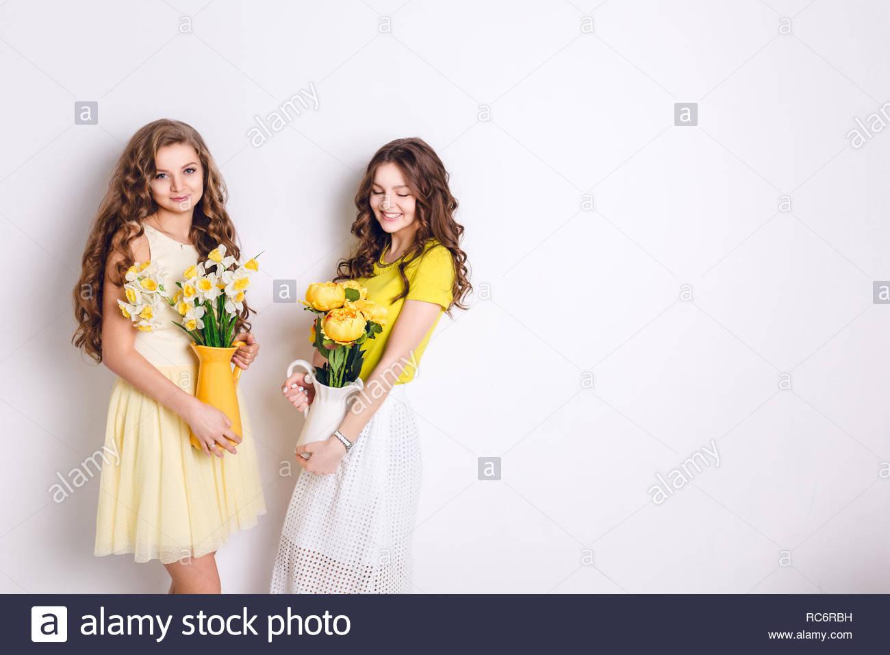 Brunette Girls Cocktail Dress
