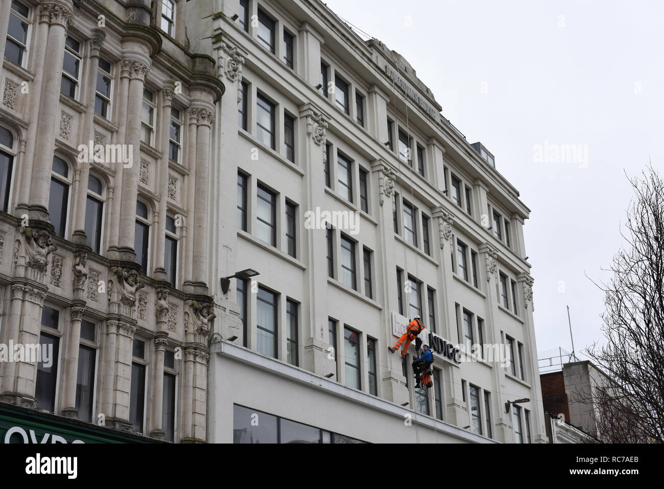 Hotel Indigo Cardiff number 3783 - Stock Image