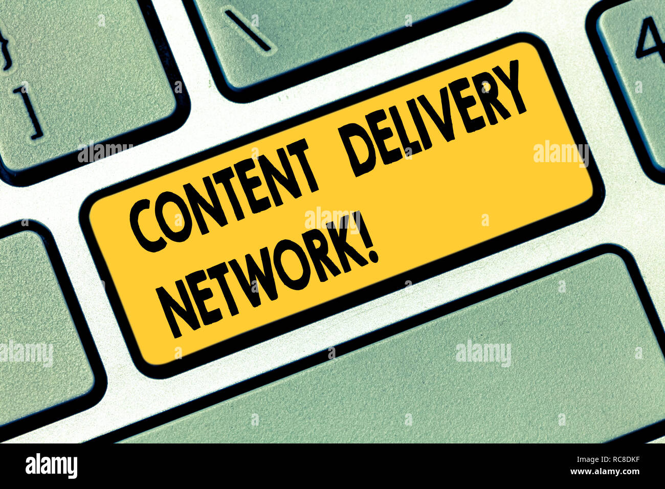Text sign showing Content Delivery Network  Conceptual photo