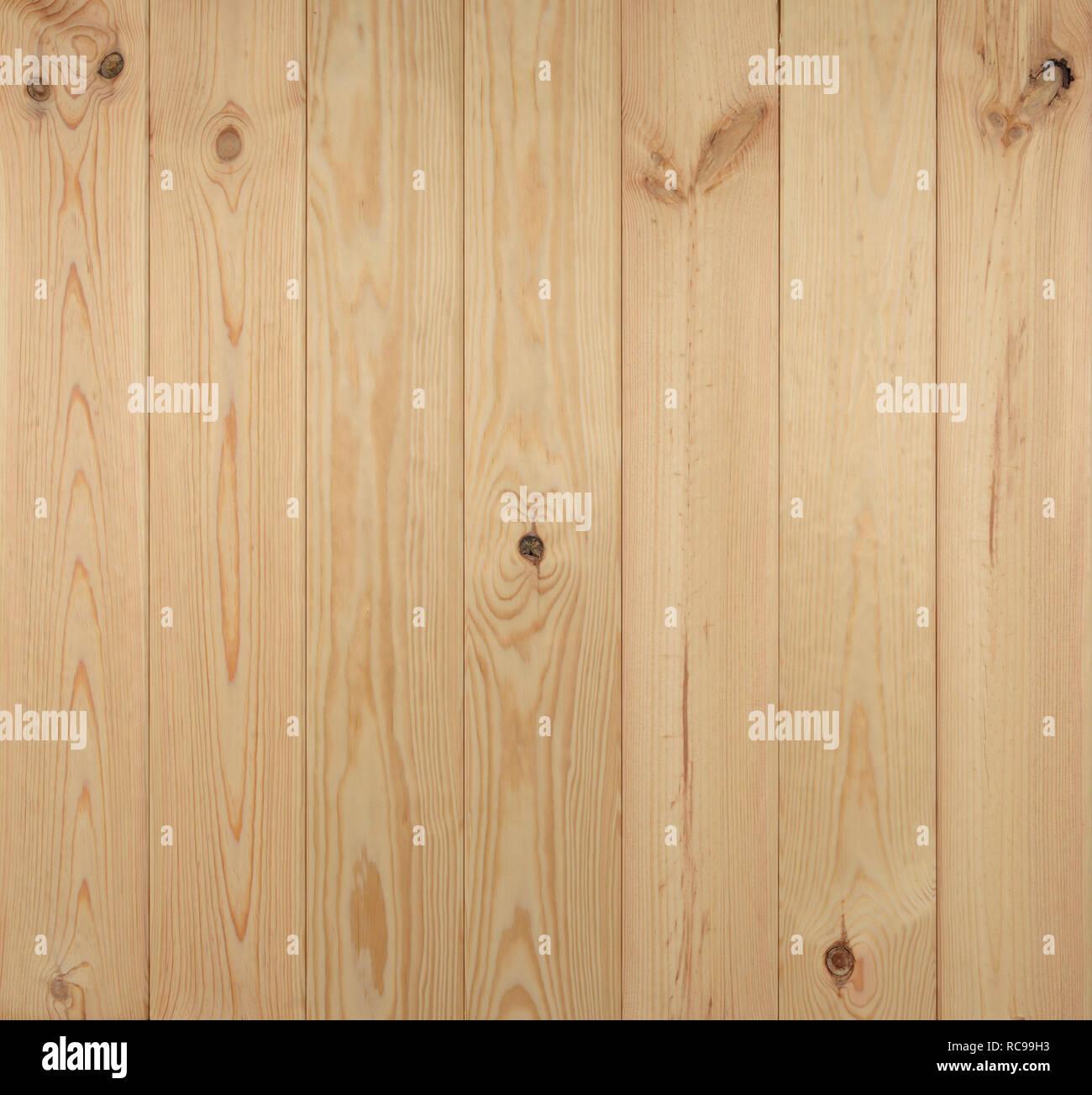 Pine floorboards, full frame texture Stock Photo