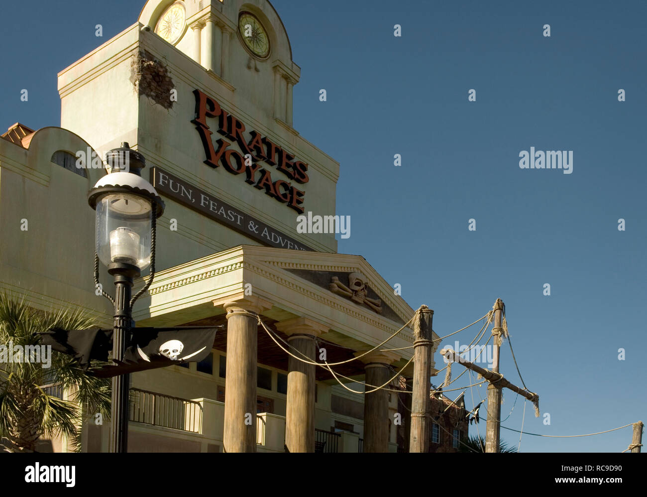 Pirates Voyage Dinner Theater at Myrtle Beach South Carolina, USA - Stock Image