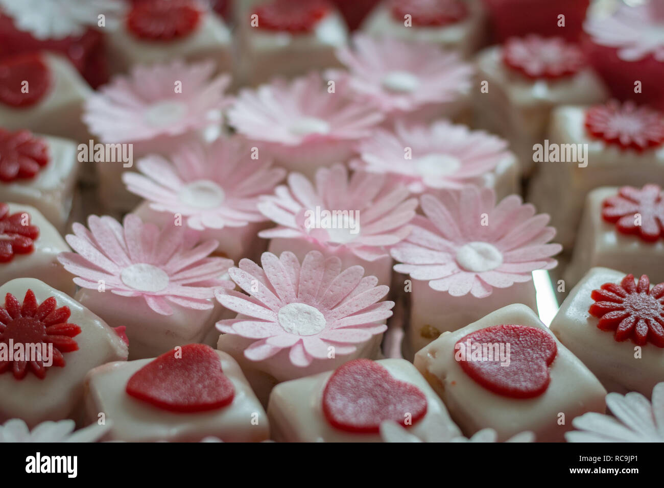 Petit Fours Cake Stock Photos Petit Fours Cake Stock Images Alamy