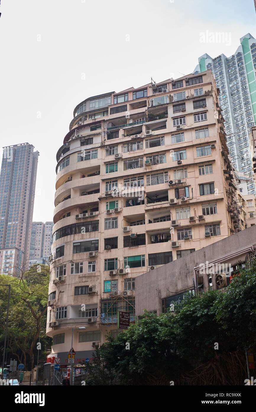 Hong Kong Apartments - Stock Image