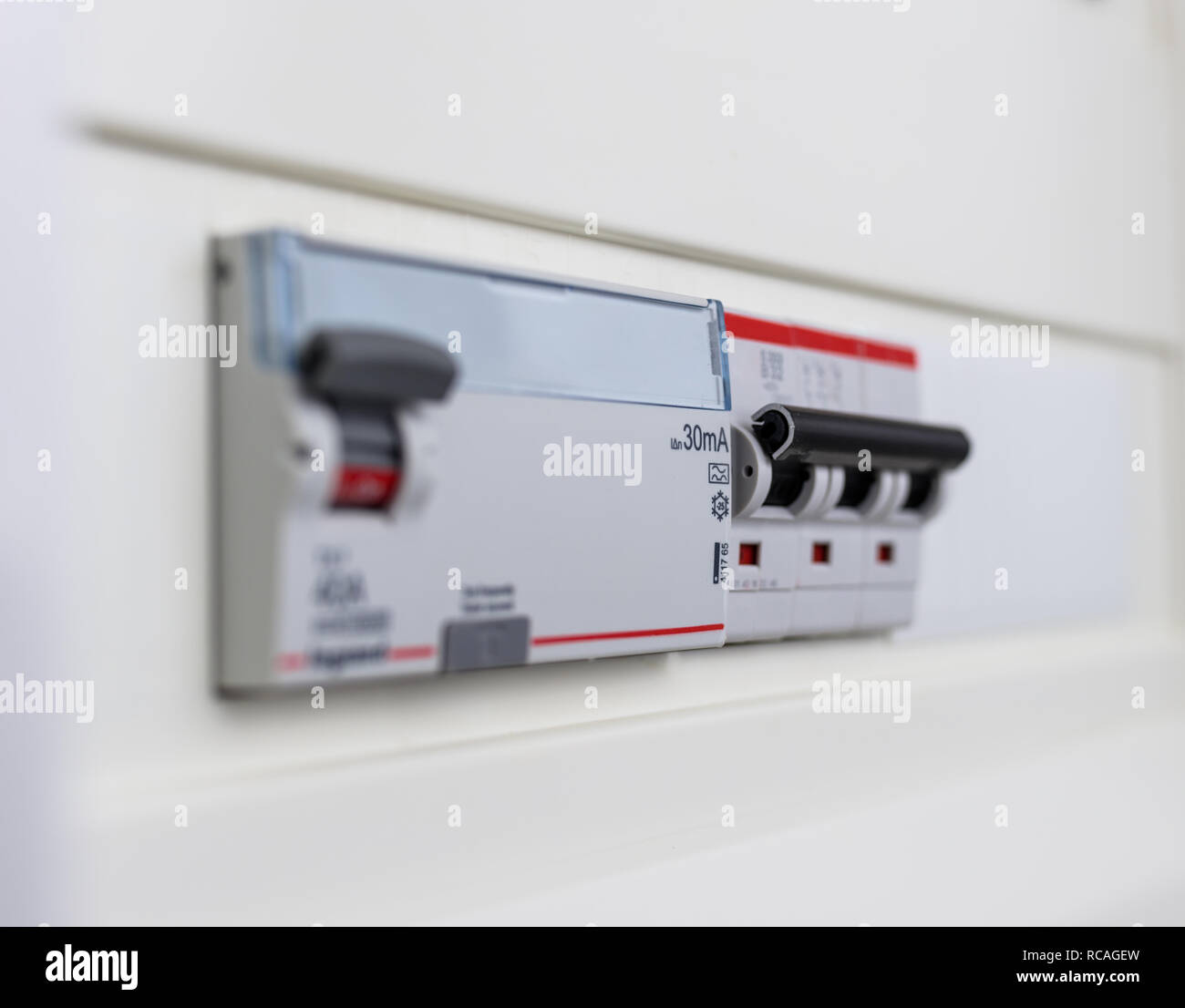 fuse box stock photos & fuse box stock images alamy old fuse box automatic circuit breakers in a fuse box power control panel stock image
