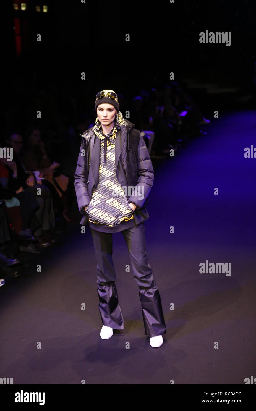 best choice authentic sports shoes Berlin, Germany, 14 Januar 2019, Bogner Fashion Show at the ...