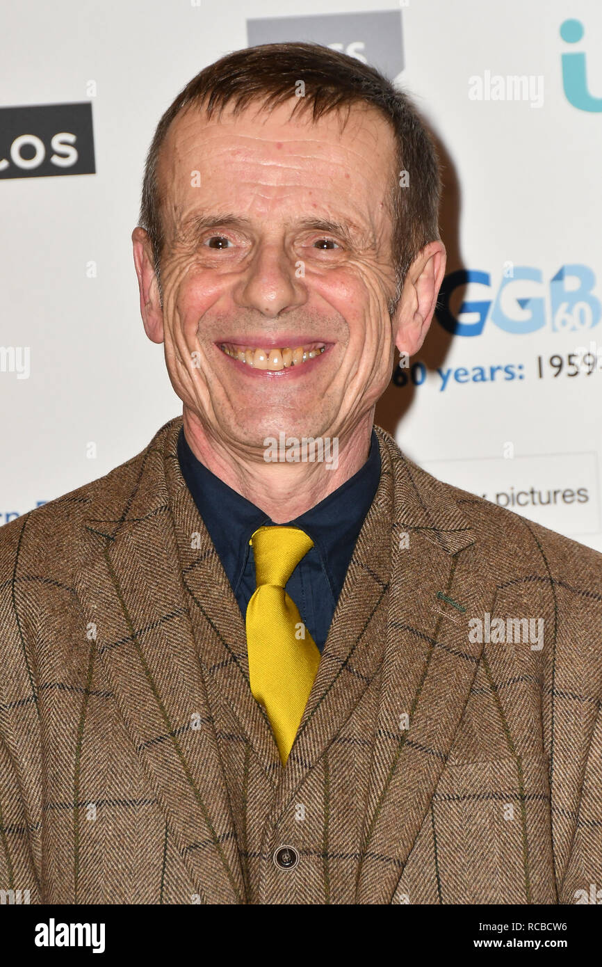 London, UK. 14th Jan, 2019. Tom Watt attends 2019 Writers' Guild Awards at Royal College of Physicians on 14 January 2019, London, UK Credit: Picture Capital/Alamy Live News - Stock Image