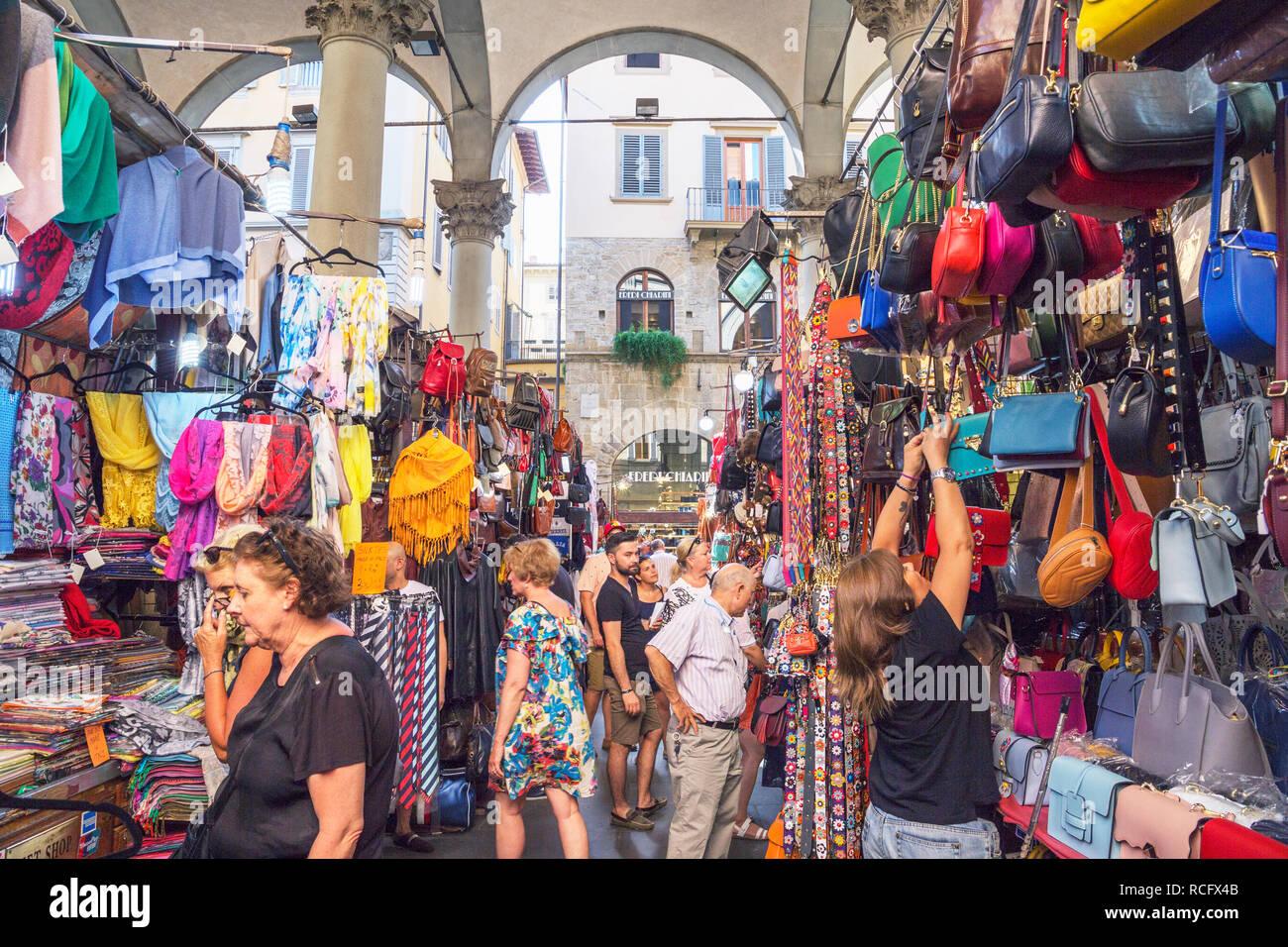 Mercato Nuovo, Florence, Tuscany, Italy, Europe - Stock Image