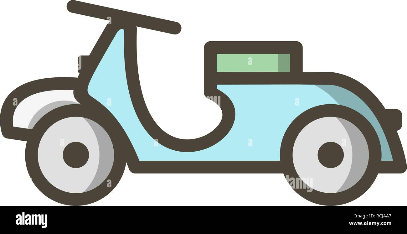 vector vespa icon stock vector image art alamy alamy