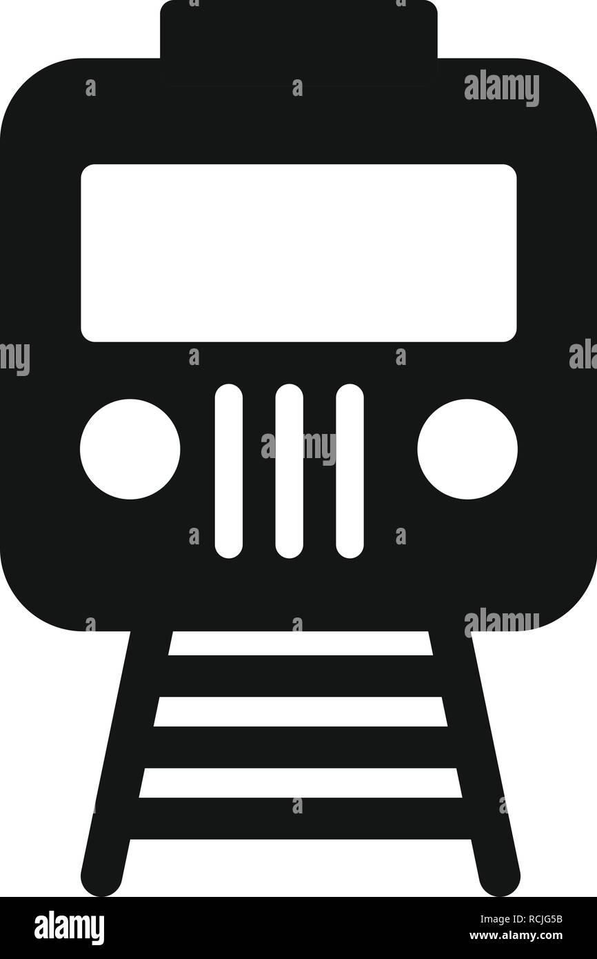 Vector Train Icon - Stock Vector
