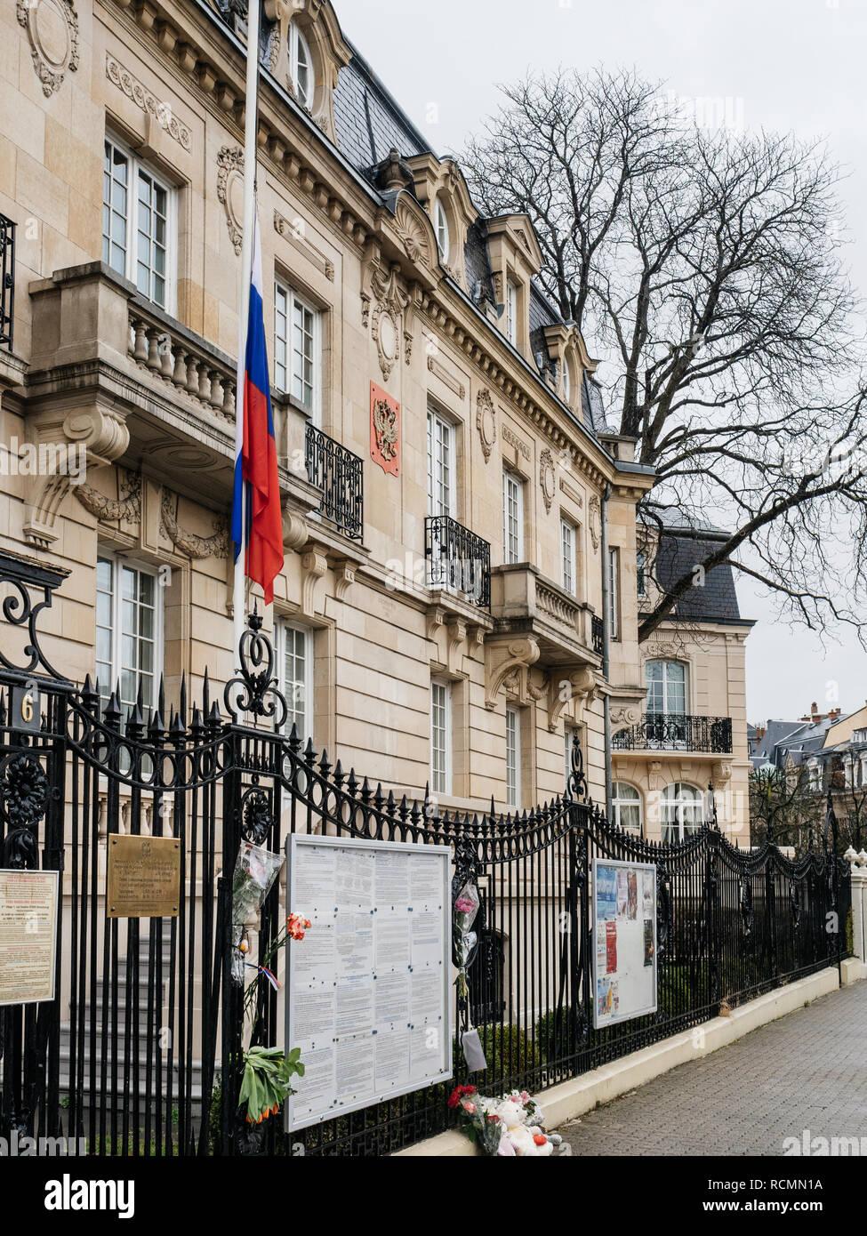 russian embassy in strasbourg russian