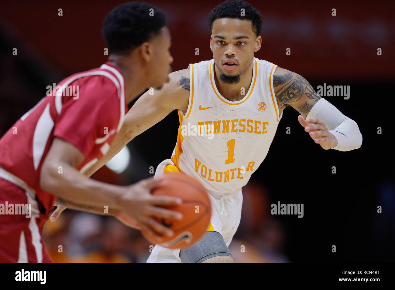 Knoxville, Tennessee, USA  January 15, 2019: Lamonte Turner
