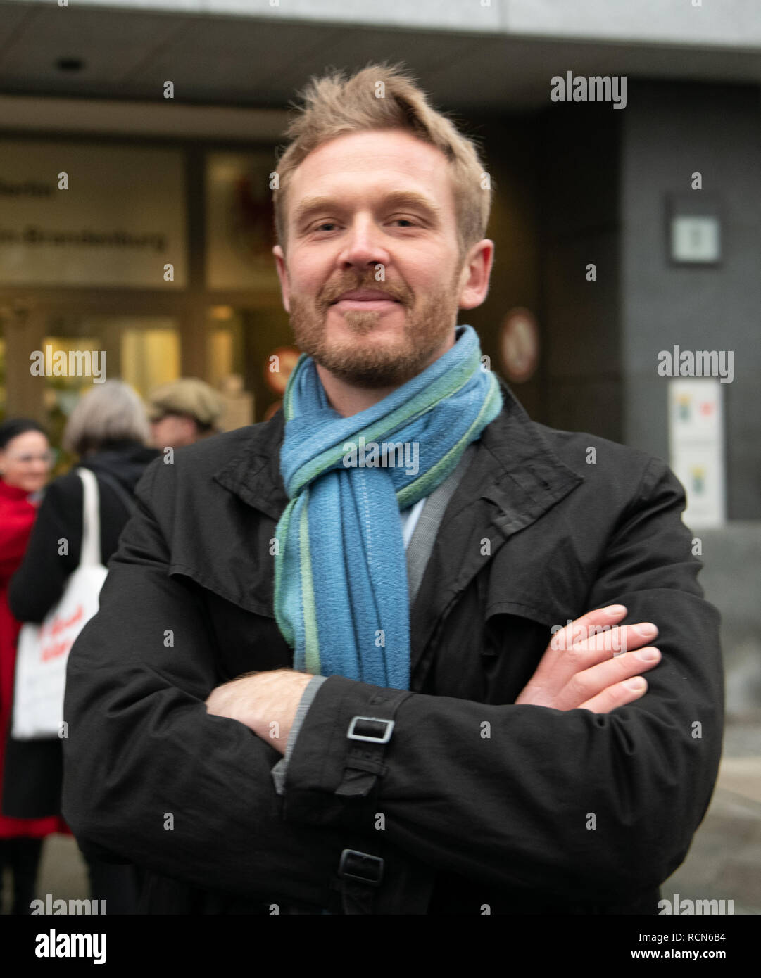 Berlin, Germany  16th Jan, 2019  Primary school teacher Nikolai N