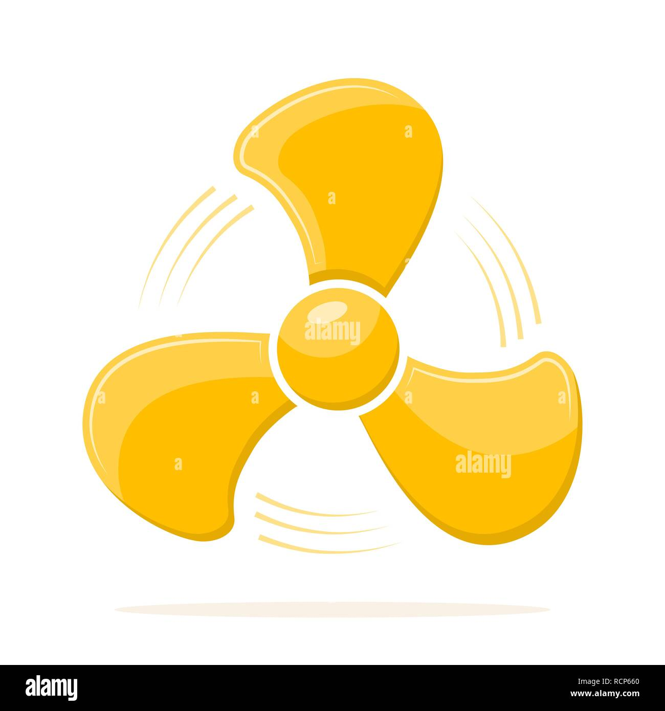 Yellow Fan Icon In Flat Design Vector Illustration Creative Graphic Design Logo Element Isolated On White Background Stock Vector Image Art Alamy,Small Yacht Interior Design Ideas