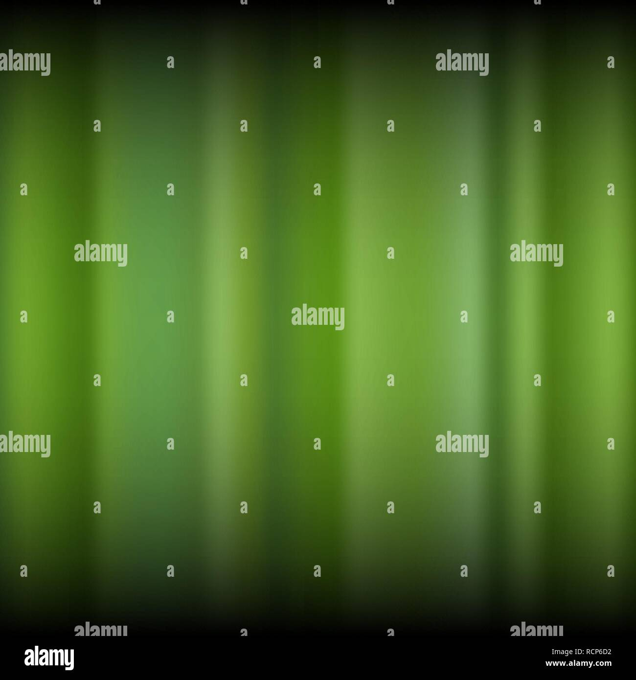 Abstract green blurred background. Vector illustration. Nature gradient background. - Stock Vector