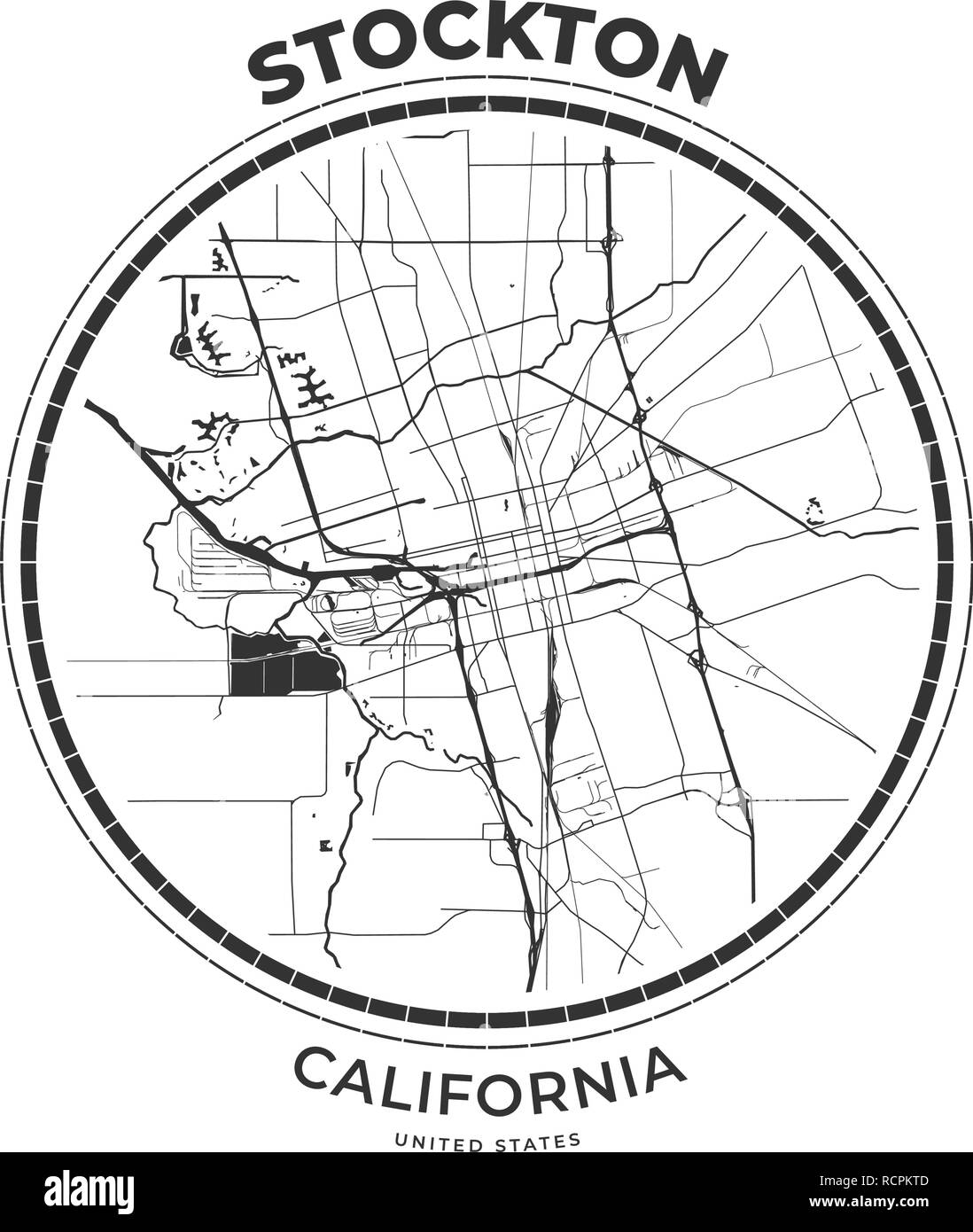 Stockton California City Stock Photos & Stockton California City ...