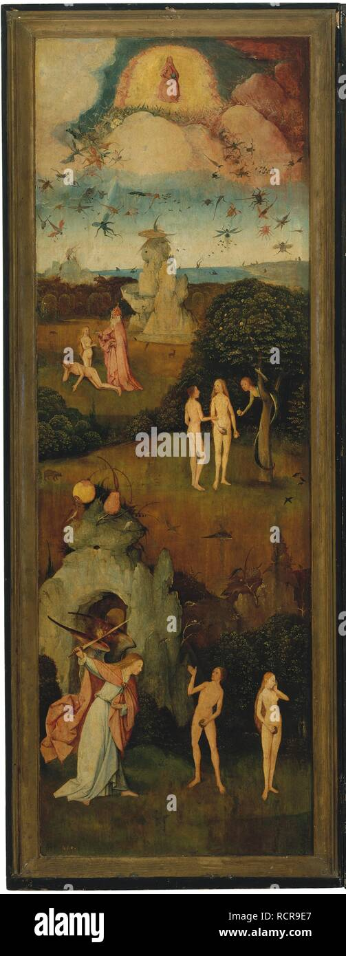 d7c2ac37c5f Painting Hieronymus Bosch The Haywain Stock Photos   Painting ...