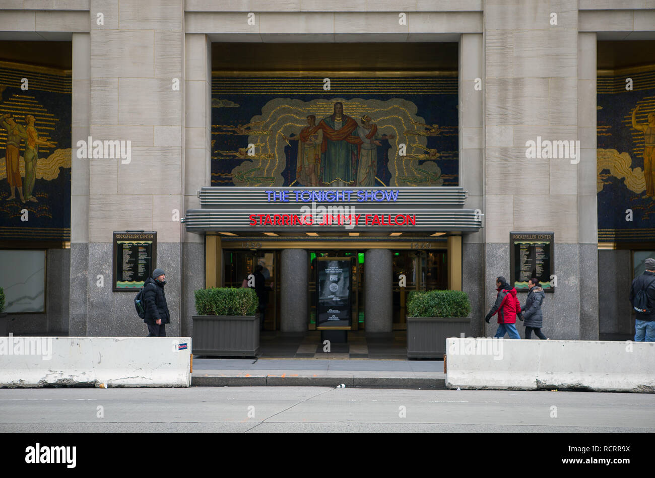 General View GV of The Tonight Show starring Jimmy Fallon studio
