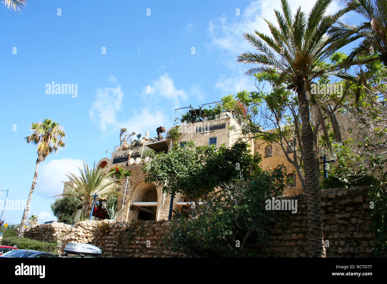Tel Aviv, Israel - June 7, 2013: Ilana Goor Residence and Museum situated in the historical part of Jaffa. Tel Aviv, Israel - Stock Image