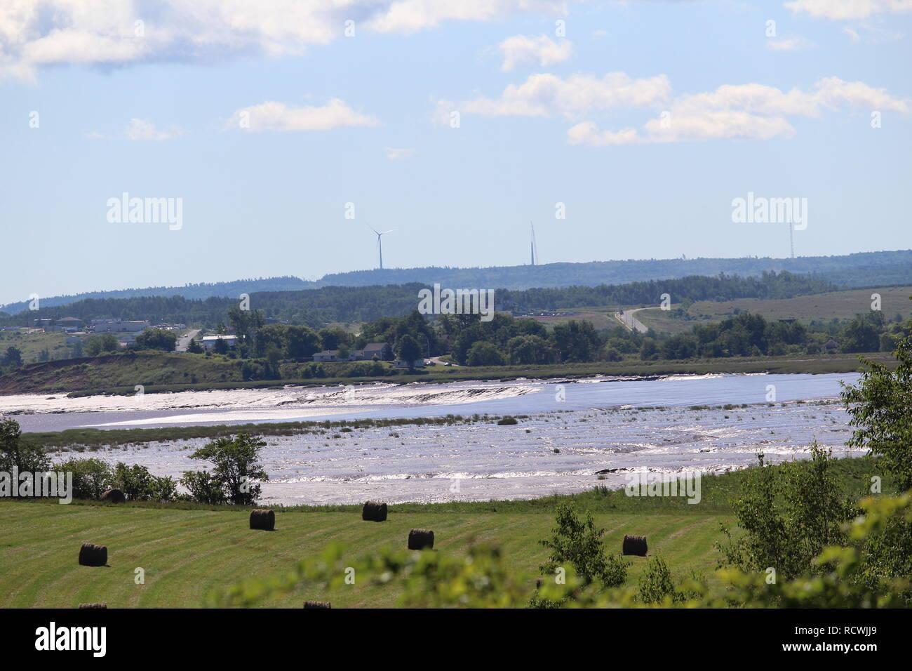 Paysage de la Nouvelle-Écosse / Landscape of Nova Scotia - Stock Image