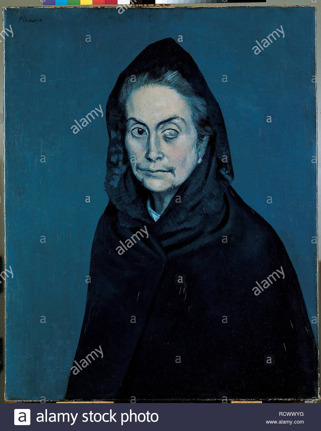 La Celestina (La Célestine). Museum: Musée Picasso, Paris. Copyright: This artwork is not in public domain. It is your responsibility to obtain all necessary third party permissions from the copyright handler in your country prior to publication. - Stock Image