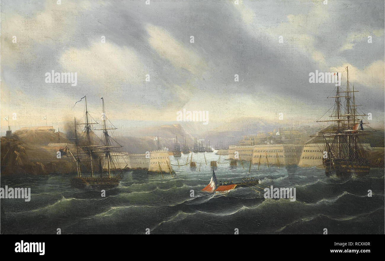 The Siege of Sevastopol. Museum: PRIVATE COLLECTION. Author: Durand-Brager, Jean-Baptiste. - Stock Image