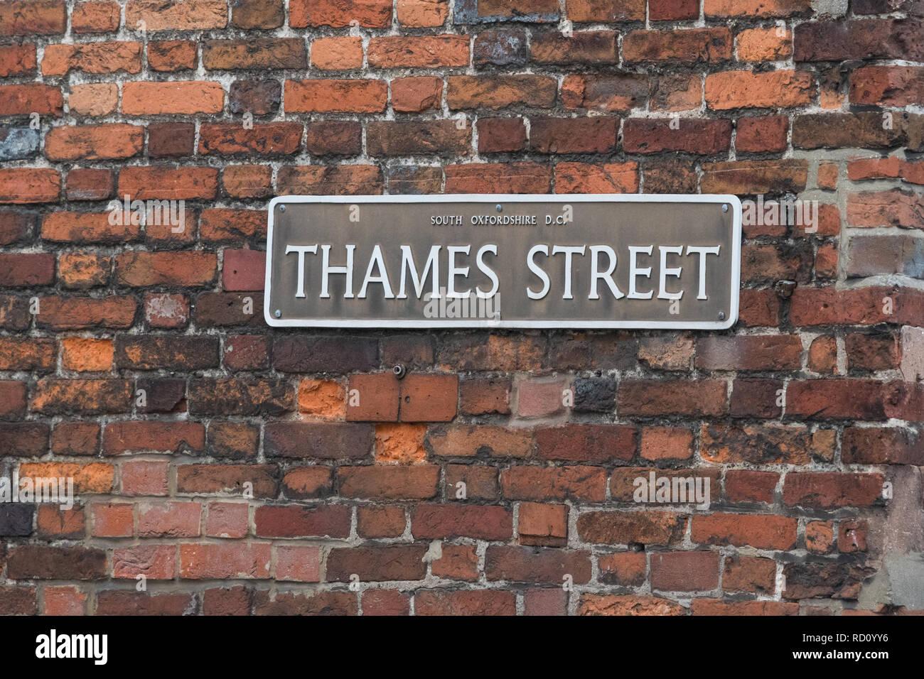 English Street Sign Stock Photos English Street Sign Stock