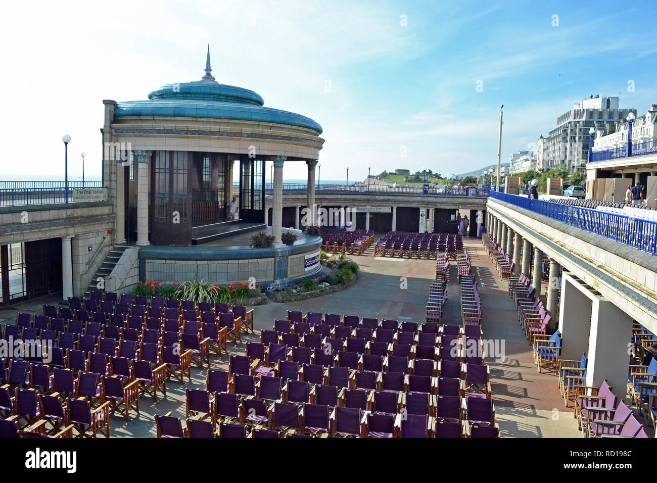 The Bandstand at Eastbourne, East Sussex, UK Stock Photo