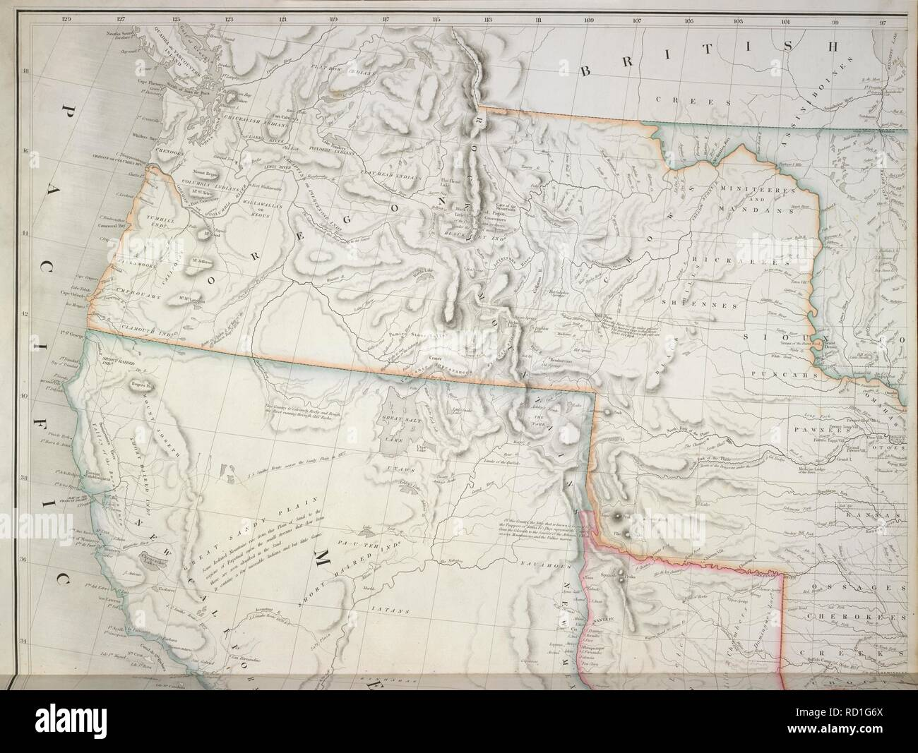 West coast of America. The American Atlas; exhibiting the ...