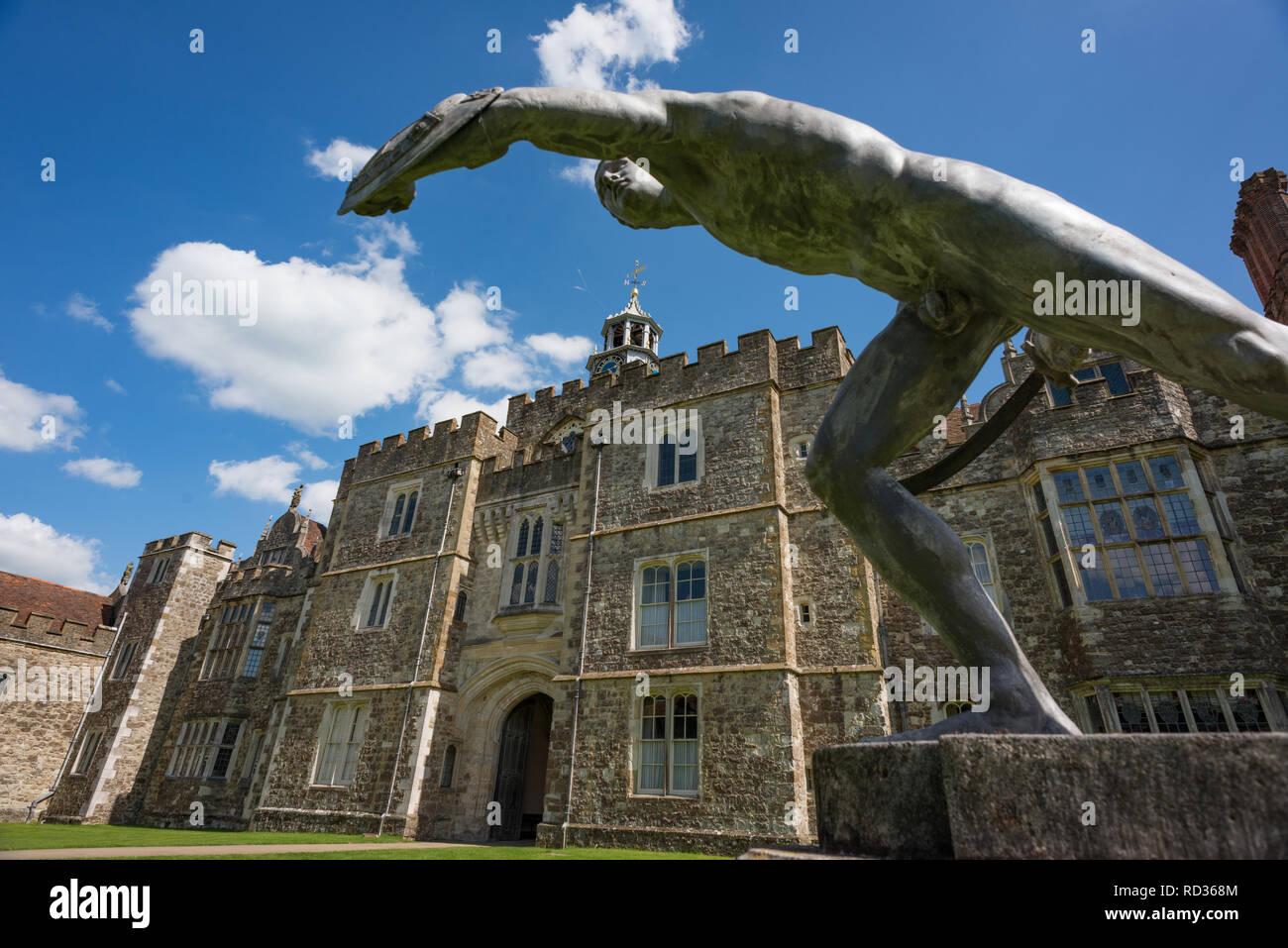 Knole Park house and gardens, Sevenoaks, Kent - Stock Image