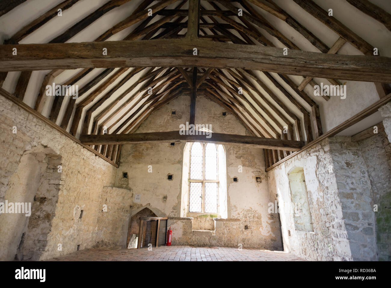 Old Soar Manor, near Sevenoaks, Kent - Stock Image